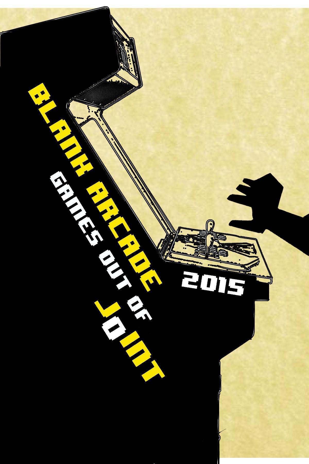 Book Cover, Blank Arcade 2015