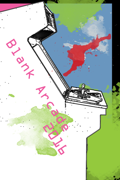 Book Cover, Blank Arcade 2016