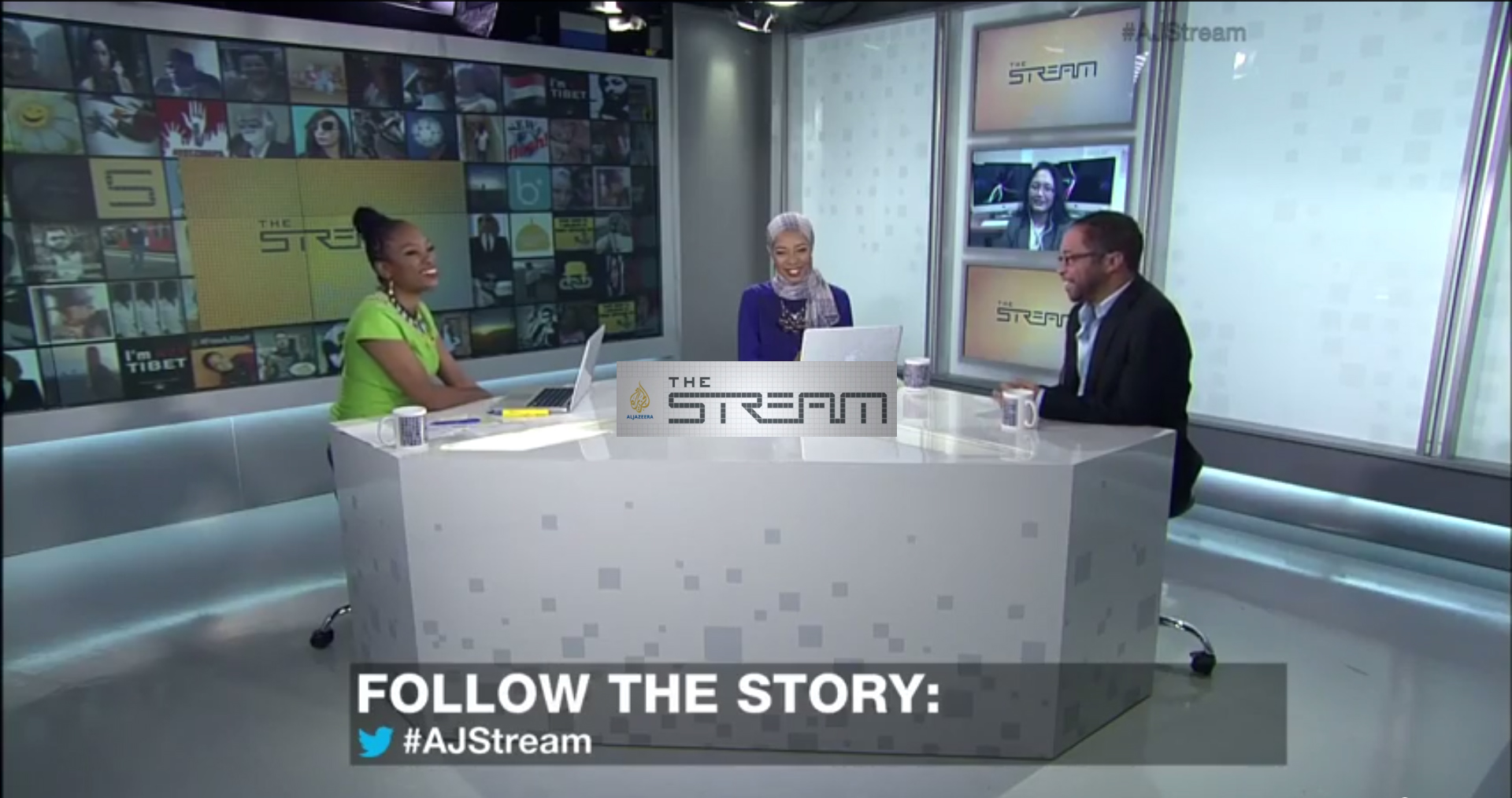 AL Jazeera the Stream 2014